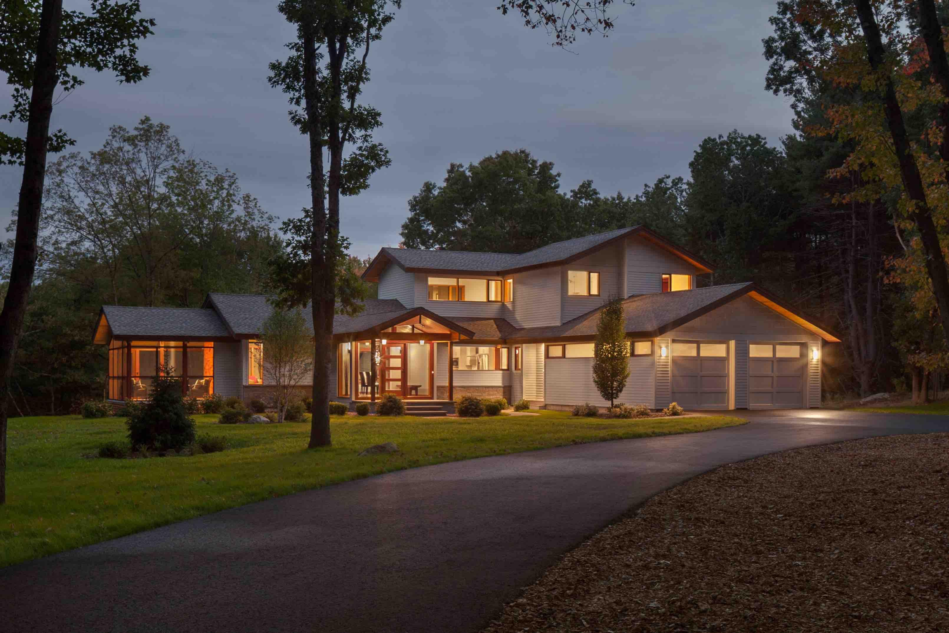 Acorn deck house designs for Acorn house designs