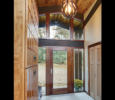 Glass & Doors - Acorn Deck House